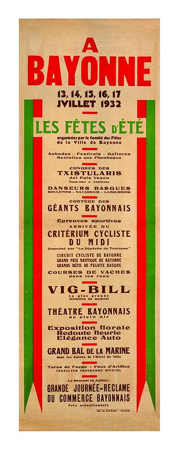 Affiche 1932
