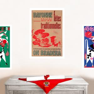1949 affiche Fêtes de Bayonne