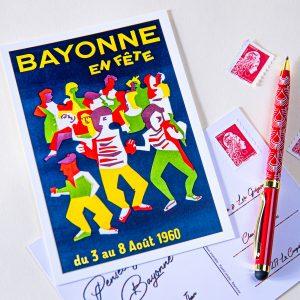 Carte postale Fêtes de Bayonne 1960