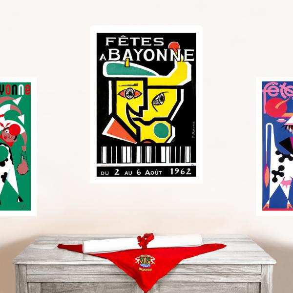 1962 affiche Fêtes de Bayonne