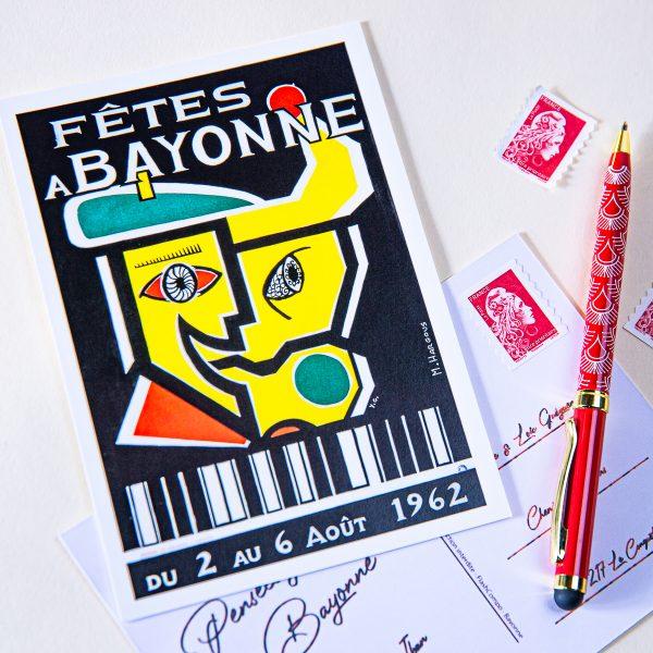 Carte postale Fêtes de Bayonne 1962