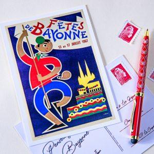 Carte postale Fêtes de Bayonne 1967