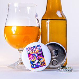 Décapsuleur magnet fêtes de Bayonne 1989