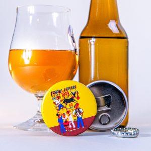 Décapsuleur magnet fêtes de Bayonne 1992