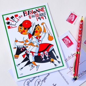 Carte postale Fêtes de Bayonne 1997