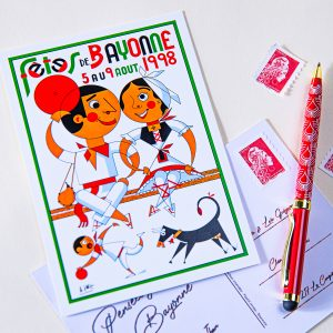Carte postale Fêtes de Bayonne 1998