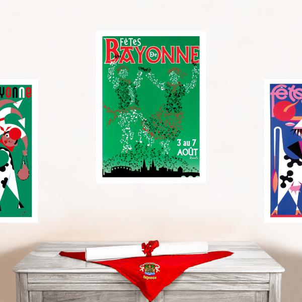 2005 affiche Fêtes de Bayonne