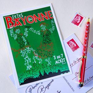 Carte postale Fêtes de Bayonne 2005