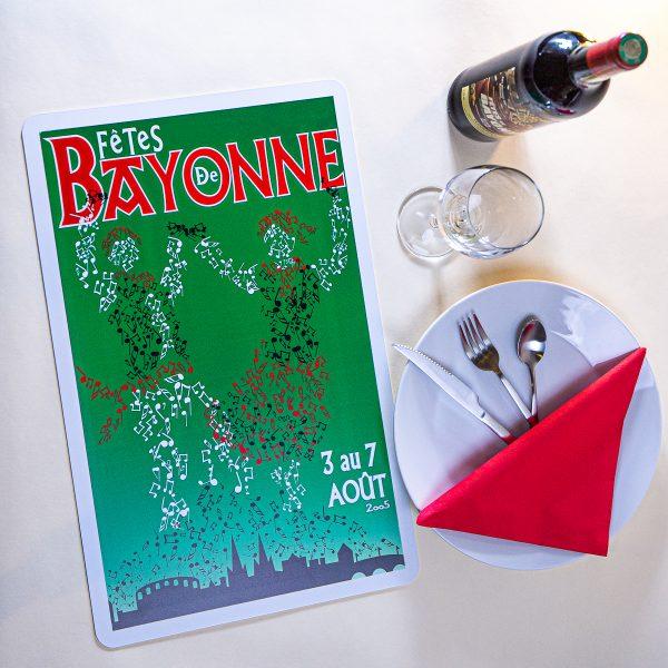 Set de table fêtes de Bayonne 2005