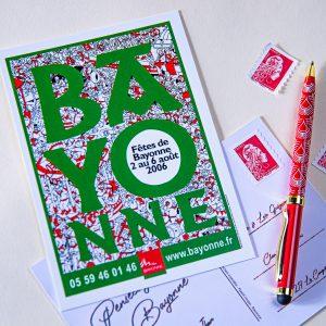 Carte postale Fêtes de Bayonne 2006