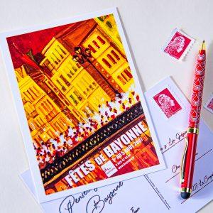 Carte postale Fêtes de Bayonne 2007