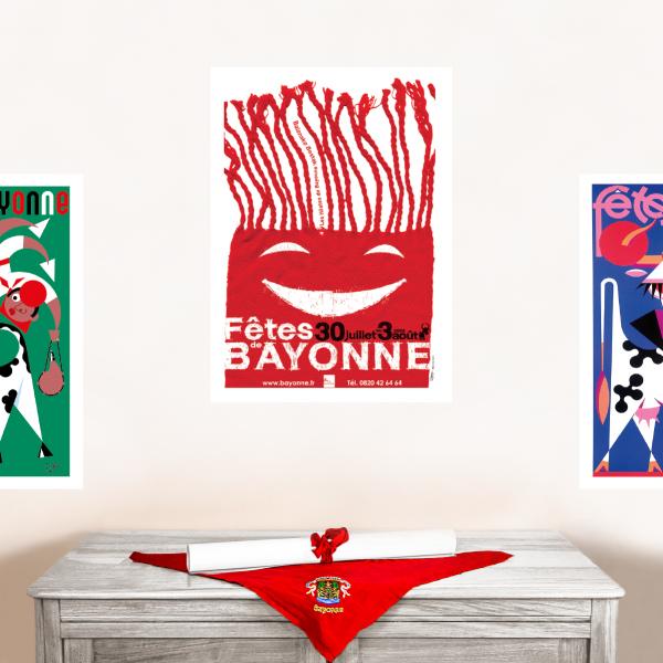 2008 affiche Fêtes de Bayonne