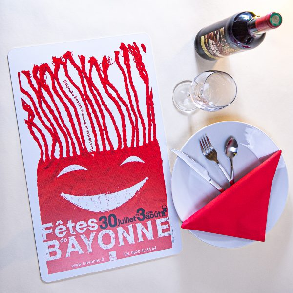Set de table fêtes de Bayonne 2008