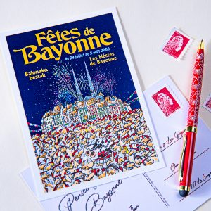 Carte postale Fêtes de Bayonne 2009