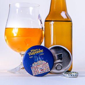 Décapsuleur magnet fêtes de Bayonne 2009