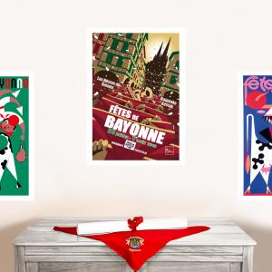 2010 affiche Fêtes de Bayonne