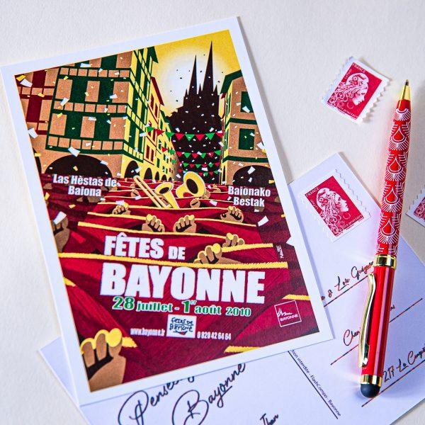 Carte postale Fêtes de Bayonne 2010