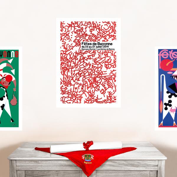 2014 affiche Fêtes de Bayonne