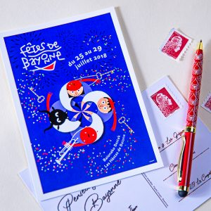 Carte postale Fêtes de Bayonne 2018