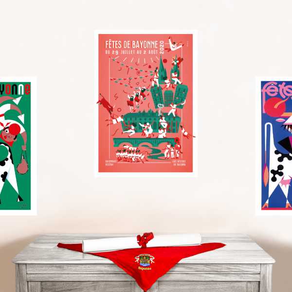 Affiche Fêtes de Bayonne 2020