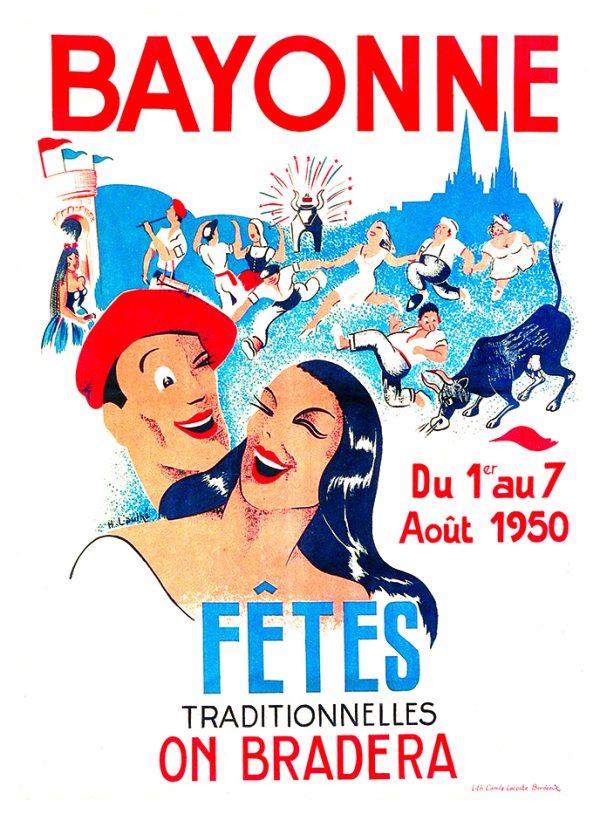 Affiche 1950