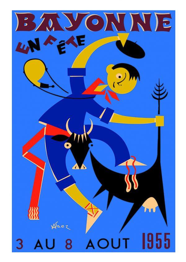 Affiche 1955