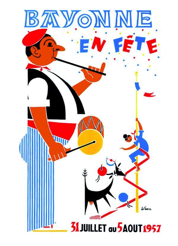 Affiche 1957