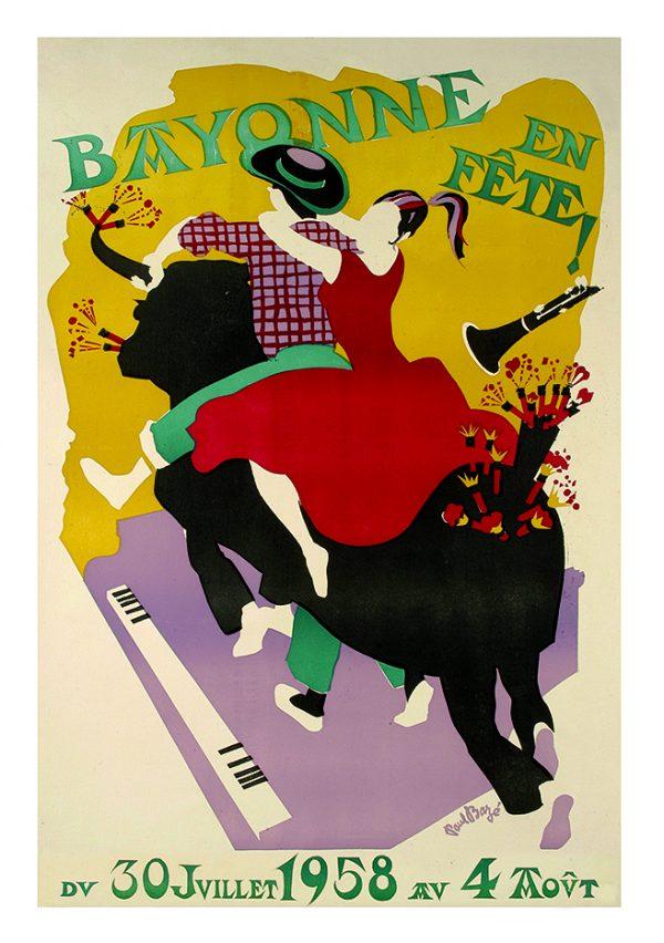 Affiche 1958
