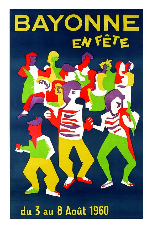 Affiche 1960