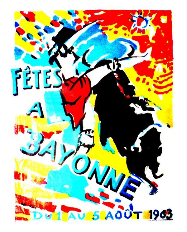 Affiche 1963