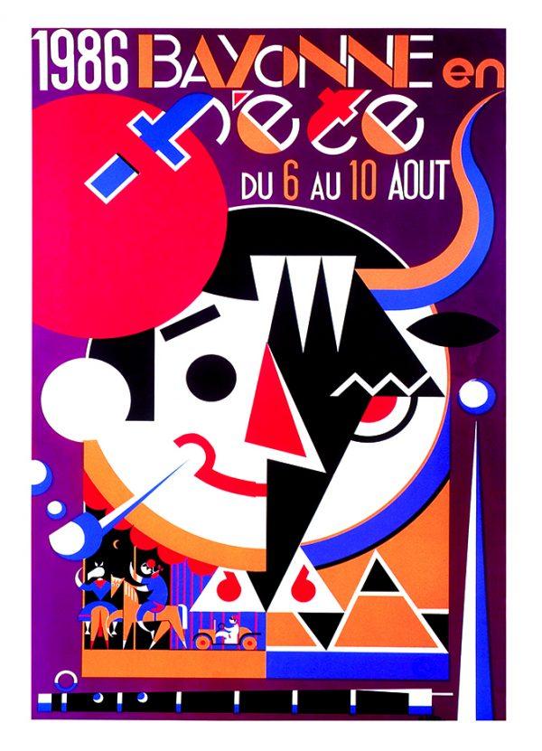 Affiche 1986