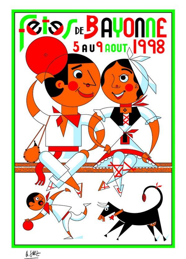 Affiche 1998