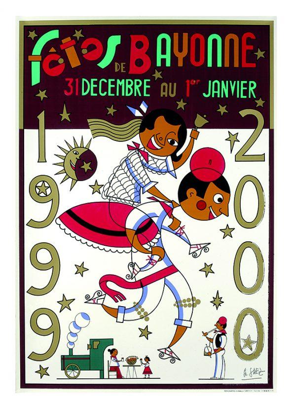 Affiche hiver 1999 - 2000