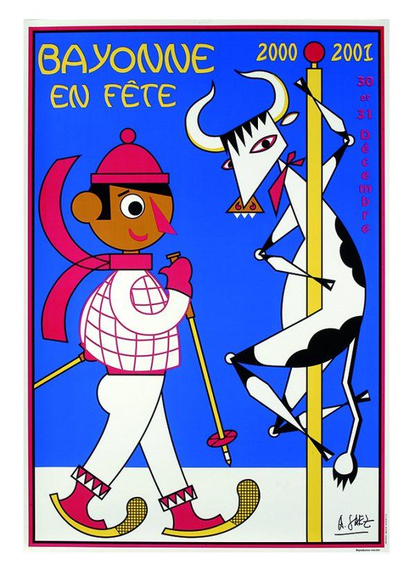 Affiche hiver 2000 - 2001