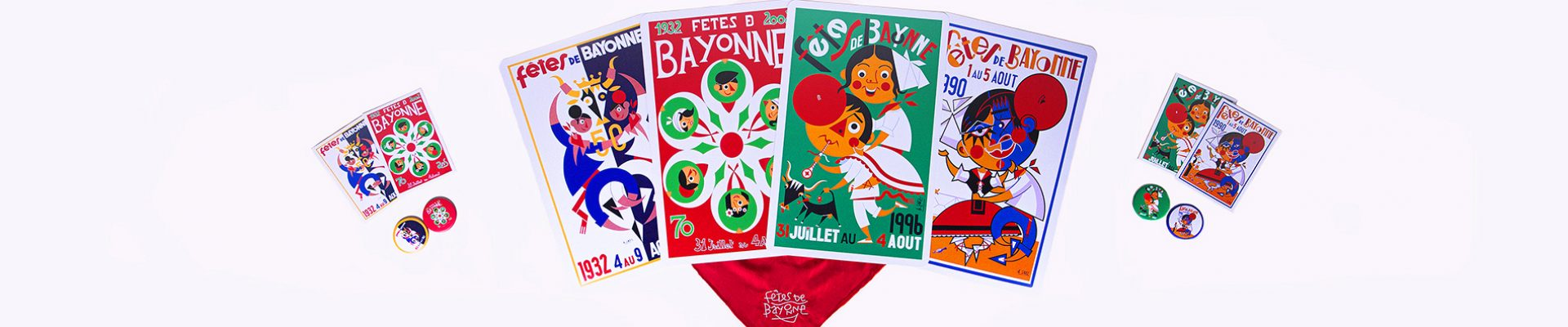 header Collection fêtes de Bayonne